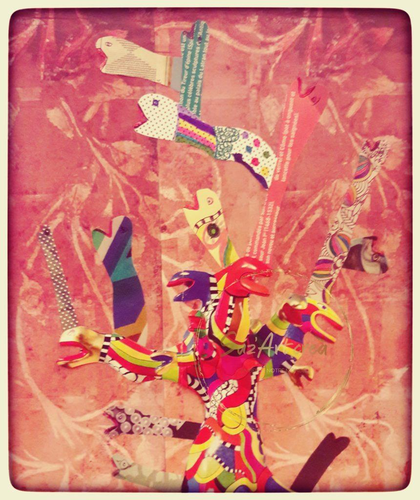 Collage St Phalle