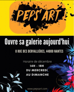 Peps Art ouvre sa Galerie
